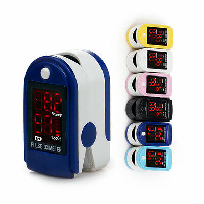 Contec Homecare fingertip pulse oximeter SPO2 O2 Oxygen Monitor LED Pulse Rate