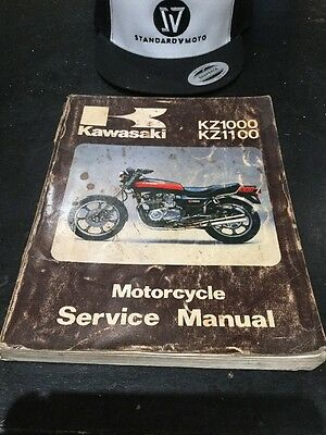 Kawasaki Kz1000 Kz1100 Service Repair Shop Manual 1981 1982 1983 99924-1026-03
