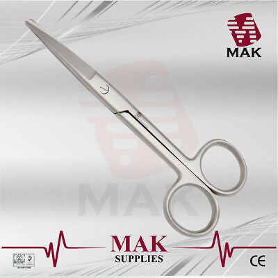 M@K Operating,Dissecting Scissor Sharp/Blunt 14cm Straight Cut Tougher Tissues