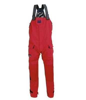 XM Yachting Offshore Trousers : Red Size Large - New