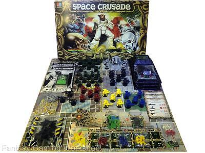 SPACE CRUSADE  - MB - GAMES WORKSHOP - BARLEY USED! (Marines, Dreadnought) #81