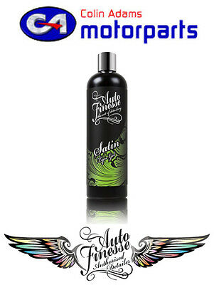 Auto Finesse Satin Tyre Creme / Gel 500ml