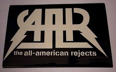 "All American Rejects Move Along 6"" Promotional Sticker FREE SHIPPING!!!"