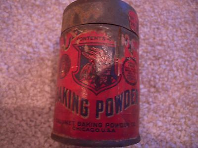 Lot of two Antique Royal and Calumet Baking Powder Tin Containers