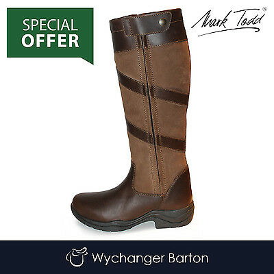 Mark Todd Waterproof Tall Zip Boot SPECIAL OFFER