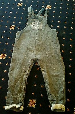 NEXT Boys Dungarees 18-24 Months 1.5-2 Years VGC!