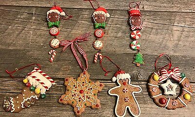 Assorted Gingerbread Ornaments