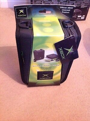 Official Original Microsoft Xbox Classic Also 360 Game Carry Case Brand New