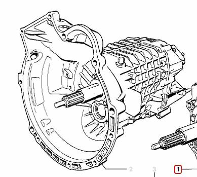 BMW Manual Transmission 23001208727 2656.12-AEO Getrag  265 5-speed fit M30 6 cy
