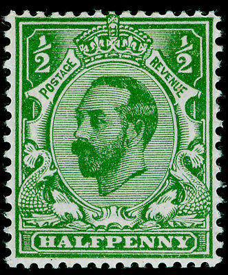 Sg322 SPEC N1(5), ½d yellow-green, UNMOUNTED MINT. Cat £50. DIE A