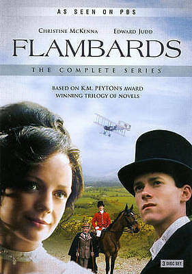 New FLAMBARDS 3 DVD THE COMPLETE SERIES Retail Sealed SET
