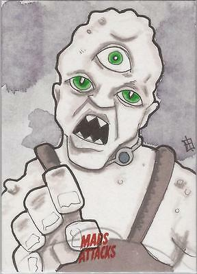 Mars Attacks Invasion - J(ay) Sketch Card