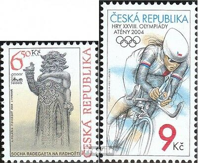 czech republic 402,404 (complete.issue.) unmounted mint / never hinged 2004 BRNO