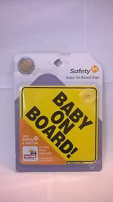 New Safety 1st Baby On Board Sign New Fast Shipping