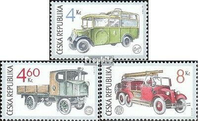 czech republic 158-160 (complete.issue.) unmounted mint / never hinged 1997 Cars