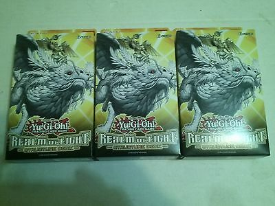 3x YuGiOh Realm of Light Structure Deck  1st Ed.  x3