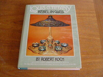 Louis C. Tiffany Rebel In Glass Hundreds of Illustrations Many Color
