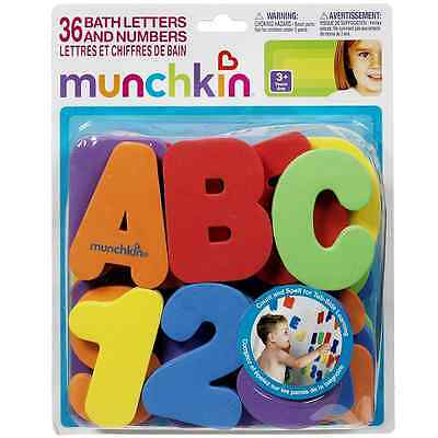 Munchkin Bath Letters - Numbers Bath Toys 1 ea (Pack of 2)