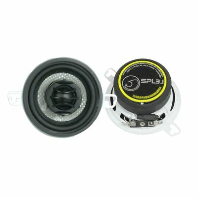 "Bass Face 3.5"" Inch Inch 8cm 80mm 200w Coaxial Two Way Pair Car Door Dash Shelf"