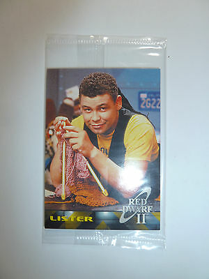 Red Dwarf Series II US promo trading card pack 4 cards Lister Holly sci-fi NEW!