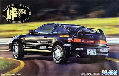 1991 Honda CRX Si Cyber Sports CR-X 1:24 Model Kit Bausatz Fujimi 045924