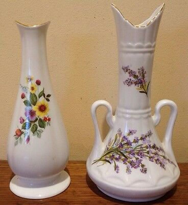 Royal Stewart Tara Hall Irish Bone China Vases