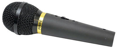Pyle PPMIK Dynamic Wired Hand Held Stage Unidirectional Mic Microphone & Cable