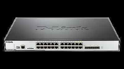 DWS-3160-24TC 24 Port Managed Switch With Unified Wireless Control RRP £1000+