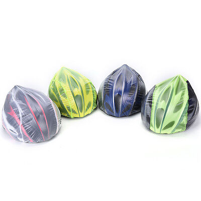 Waterproof High Visibility Reflective Bicycle Helmet Rain Covers Windproof HatHU