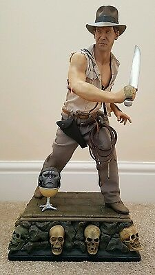 Sideshow Premium Format Exclusive Indiana Jones and the Temple of Doom Figure