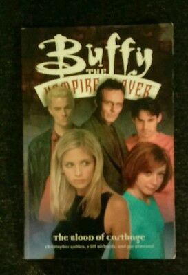 buffy the vampire slayer the blood of carthage graphic novel
