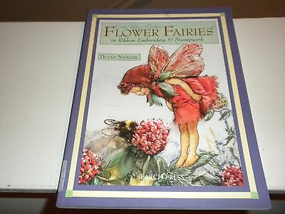 """Cicely Mary Barker """"Flower Fairies"""" in Ribbon Embroidery & Stumpwork Book 2009"""