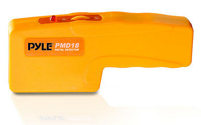 Pyle PMD43 Handheld Metal Voltage Detector LED Sound Alert Sensitivity Adjust