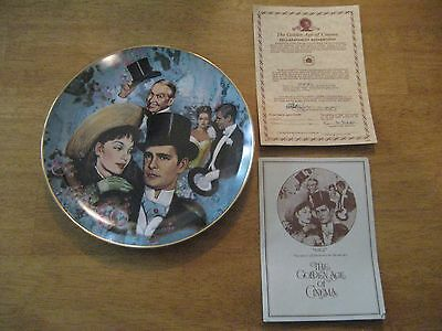 "1978 Golden Age of Cinema Collectors Plate - ""Gigi"" Sixth Issue #9992"