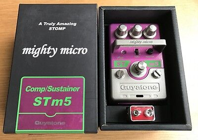 Guyatone STM-5 Compressor Sustainer Pedal Ross Clone Mint MIJ OVP