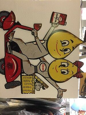 Esso Scooter Sign