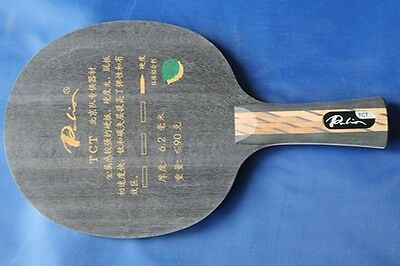 Palio TCT (Ti + Carbon) Ping Pong / Table Tennis Blade, Hard, Attack/Loop, UK