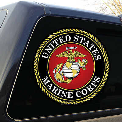 Marine Corps Marines USMC Military Large decal sticker graphic emblem - 3 Sizes