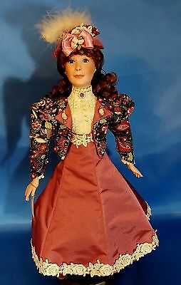 Stunning Eaton Fashion Beauty Doll By Dynasty - Charlotte Rose
