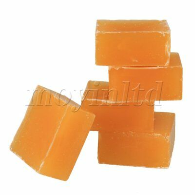 Square Shape Organic Filtered Natural Beeswax Blocks Set of 5 Yellow