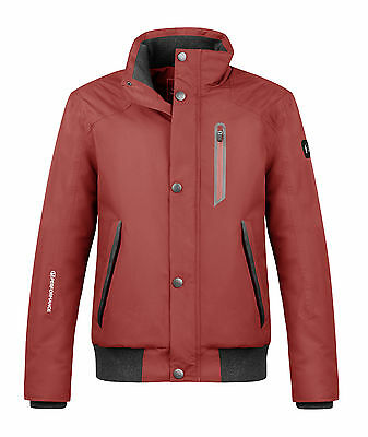 Cavallo Men's Function jacket Hendric garnet red Men's jacket red windscreen
