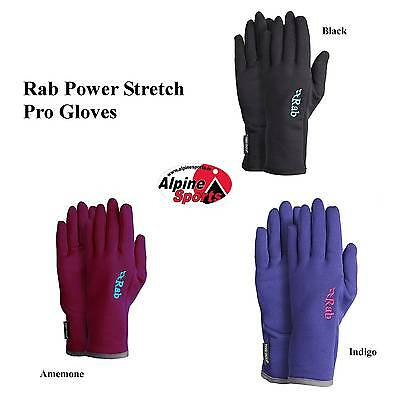 Rab PowerStretch pro Guantes Mujer