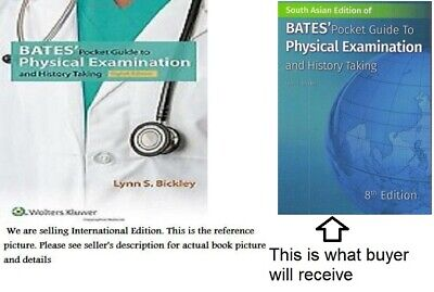 Bates'Pocket Guide to Physical Examination , 8th Paperback edition