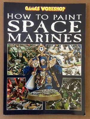 Games Workshop How To Paint Space Marines