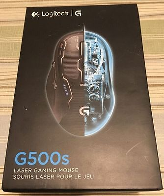 ** NEW IN BOX ** Logitech G500s Laser Gaming Mouse with Adjustable Weight Tuning