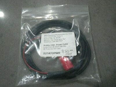 Sokkia 2700 Power Cable