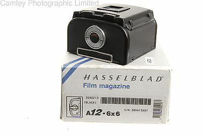 Hasselblad 2002 A12N A12 Black Back Boxed Unused (30213). Condition – 2E [5251]