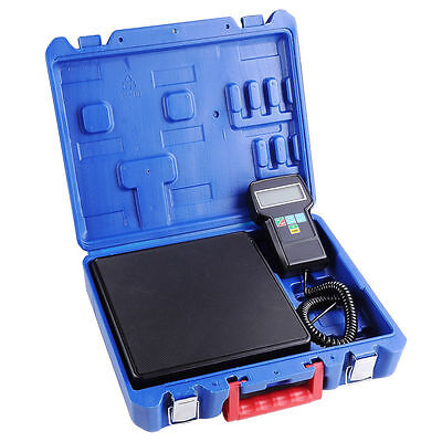 220LB Electronic HVAC Refrigerant Weight Scale Digital Charging Weighting Scale