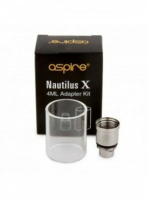 Genuine Aspire Nautilus X 4ml Extension Kit (Glass & Adapter) *OVER 18's ONLY*