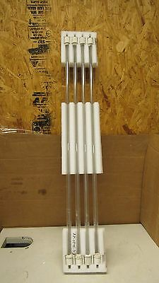 """No Name Lot Of 4 Infrared Heater Replacement Quartz Tube Heat Emitter 38""""x1/2"""""""